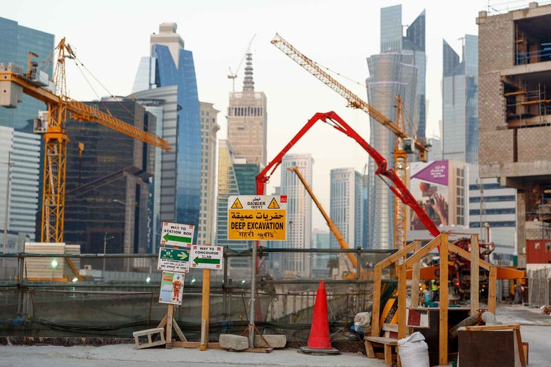 construction of the doha metro system is expected to be finished in 2019 ahead of the 2022 fifa world cup in qatar