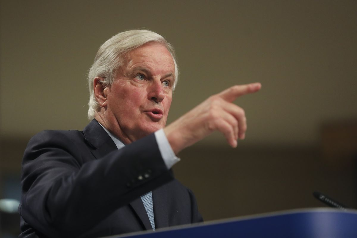 Barnier Pledges to Work 'Night and Day' to Get Deal With U.K.
