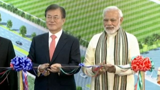 World's Largest Mobile Phone Factory Opens in India