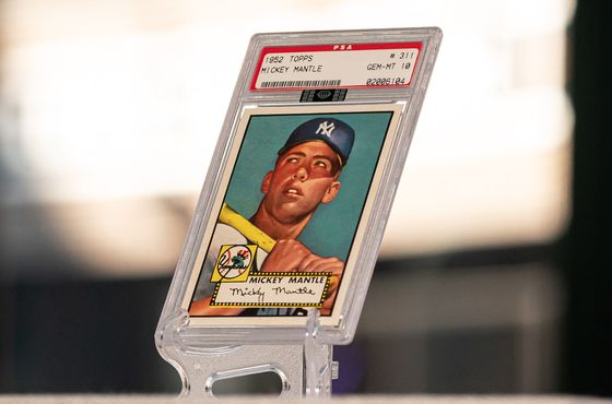 Mudrick SPAC-Topps Deal Collapses After Losing MLB Card Deal