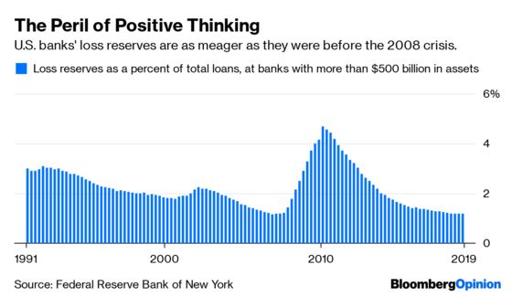 One Way Banks Aren't Ready for the Next Crisis
