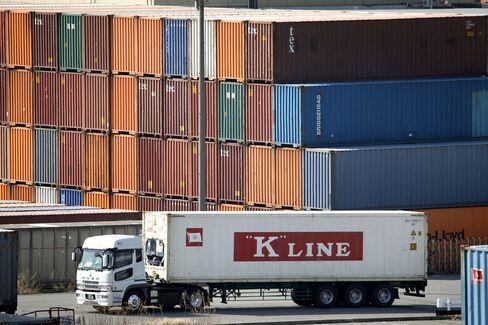 Kawasaki Kisen Leads Shipping Line Gains on Rates