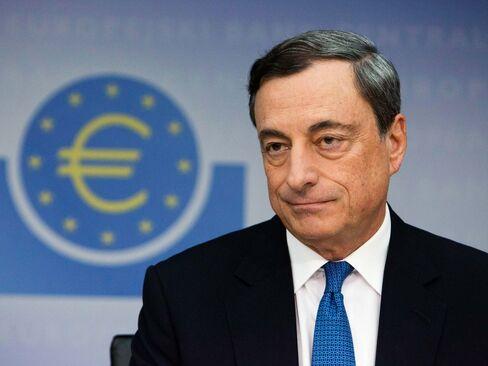 Mario Draghi, president of the European Central Bank (ECB), in Frankfurt on Nov. 6, 2014.