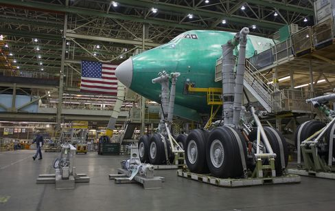 Tour Of The Boeing Co. Everett Factory
