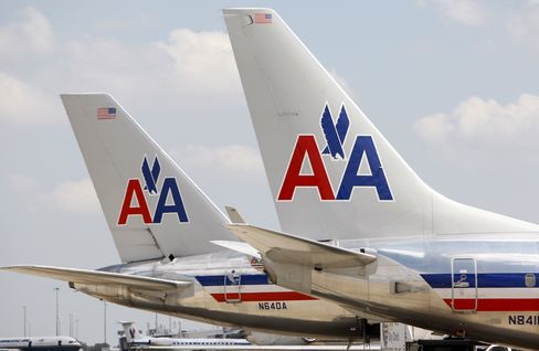 AMR's American Weighs Change in U.S. Airlines' Oldest Jet Livery