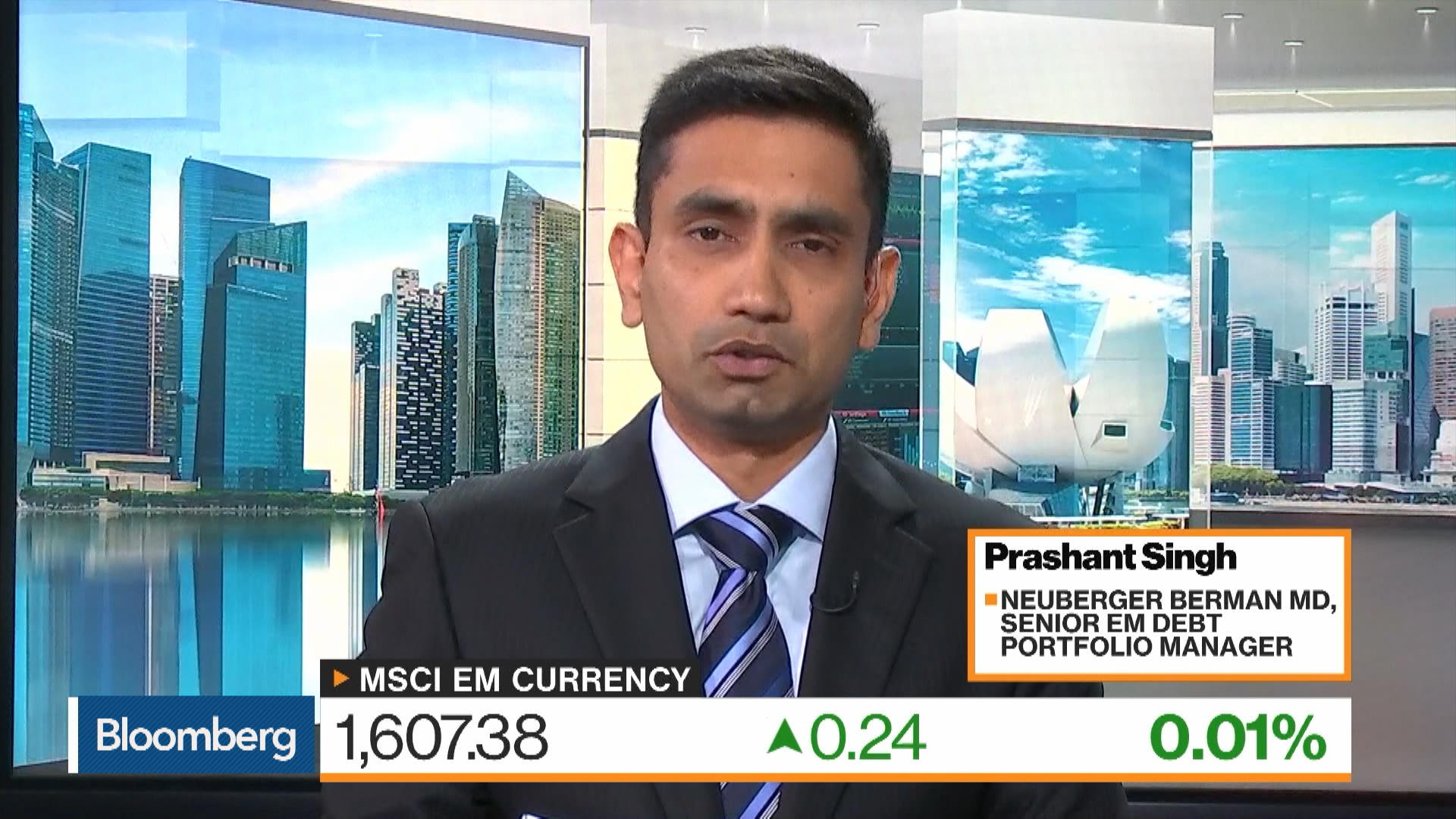 Neuberger Berman Senior Emerging Market Debt Portfolio Manager Prashant Singh on Bond Market