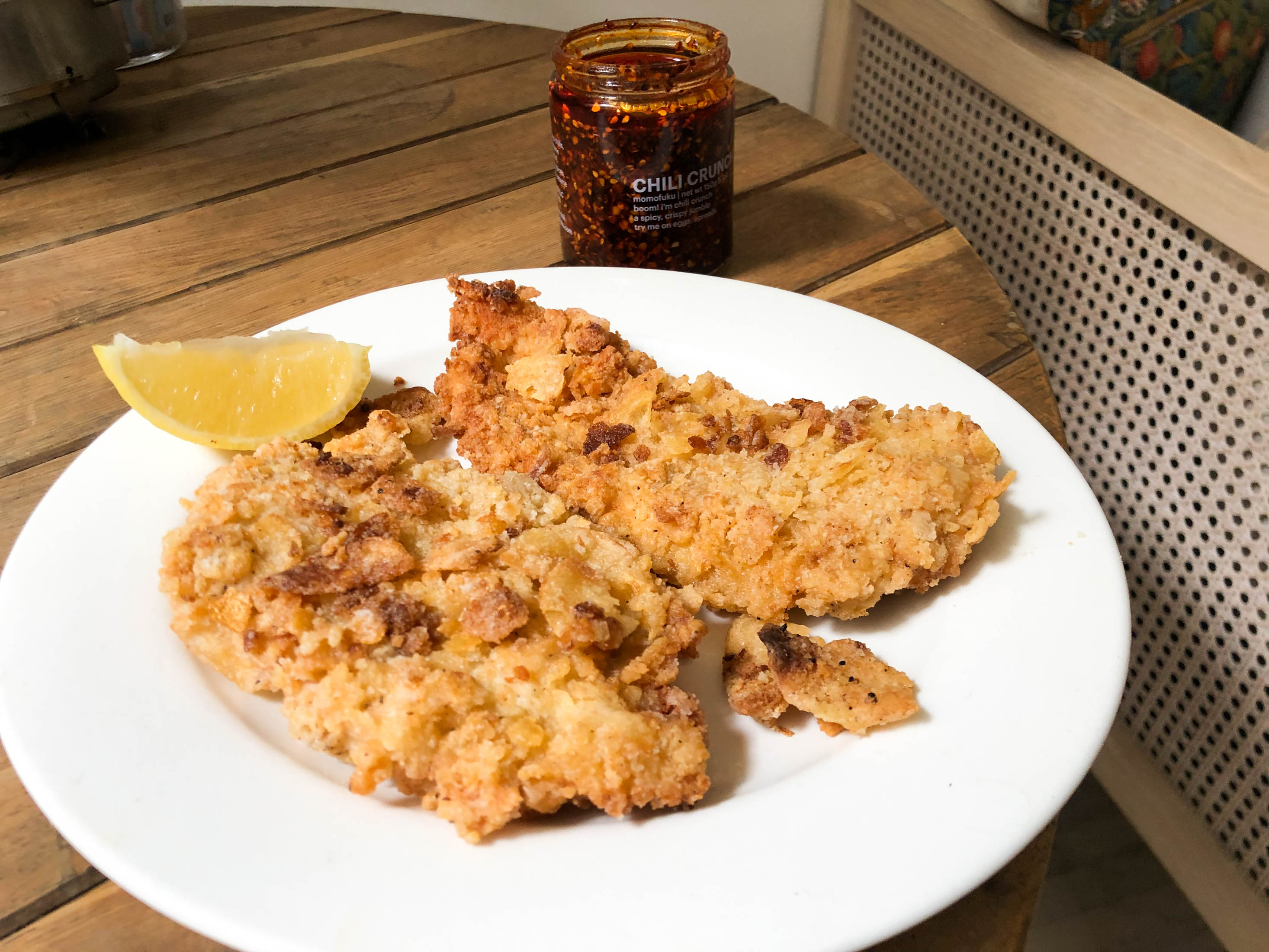 relates to 'Tis the Season for Potato Chip-Crusted Fried Chicken