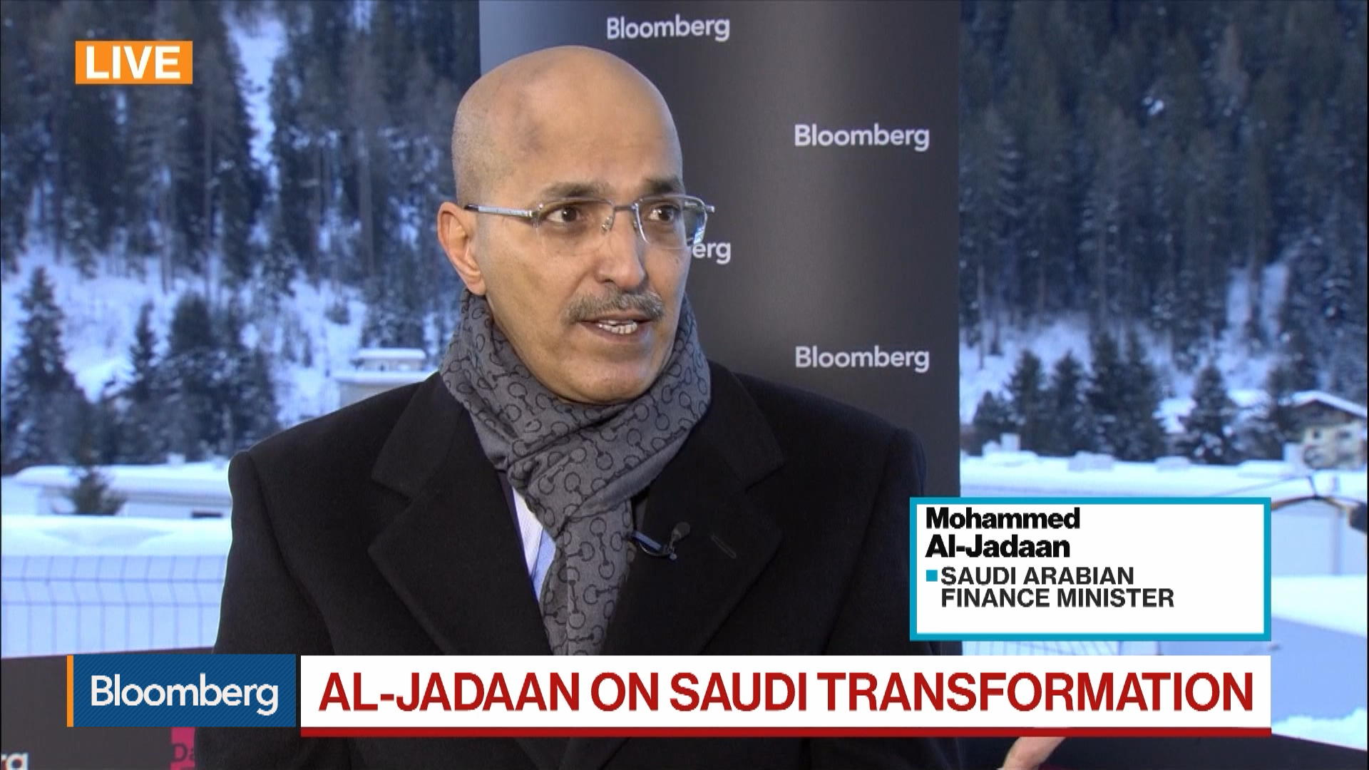 Davos: Aramco International Listing 'Still on the Cards,' Saudi Arabia Finance Minister Says