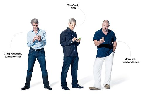 Apple Chiefs Discuss Strategy, Market Share???and the New iPhones