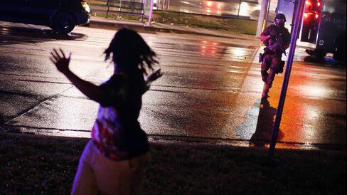 Clashes in Ferguson