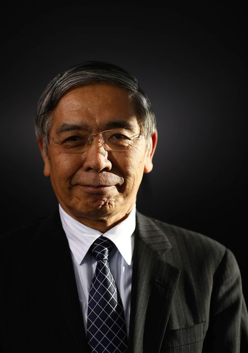 Haruhiko Kuroda.