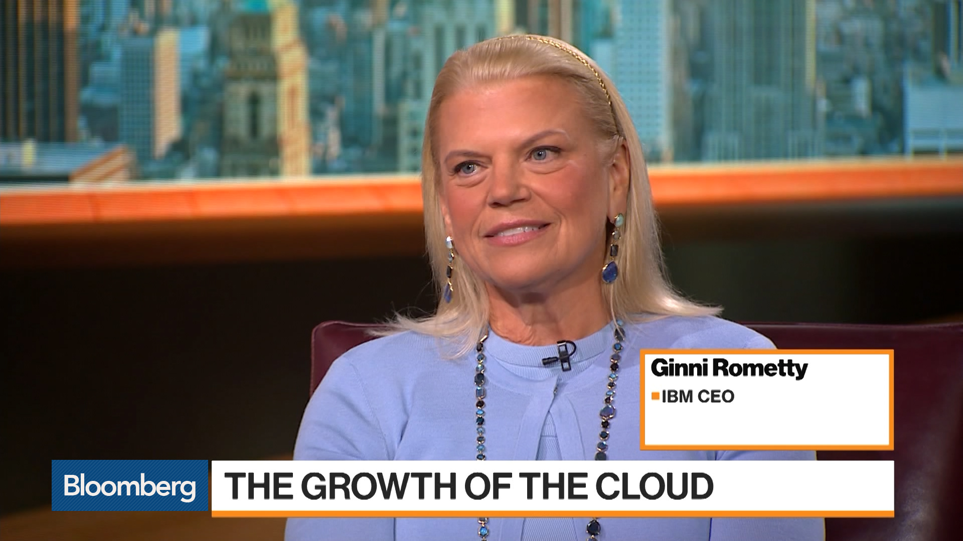 IBM CEO Sees Amazon and Microsoft Are Cloud Allies: Ginni Rometty