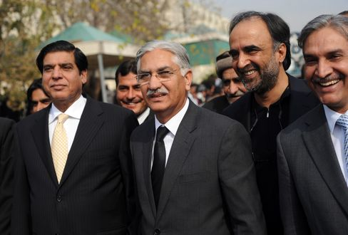 Raja Pervez Ashraf and Leaders of the Pakistan Peoples Party