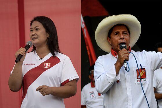 Peru Presidential Candidates Virtually Tied in Ipsos Mock Vote