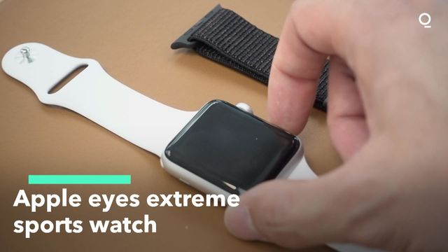 Apple Eyes Extreme Sports Watch