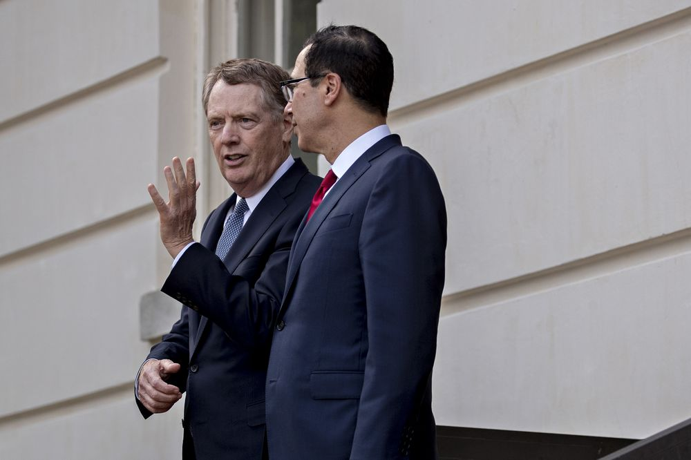 U.S. and China Trade Negotiators Spoke by Phone, Lighthizer Says