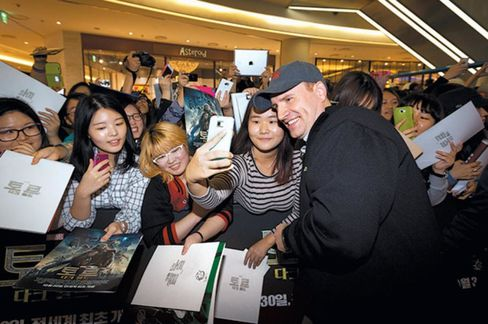 Kevin Feige is president of Marvel Studios, the moviemaking arm of Marvel Entertainment, a division of Walt Disney. Captain America: The Winter Soldier opens on April 4 and is likely to do better at the box office than Captain America: The First Avenger, Marvel's first film about the patriotic superhero, which grossed $370 million. He produced them both.Pictured, Feige and fans.