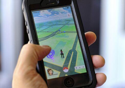 Pokemon Go app.