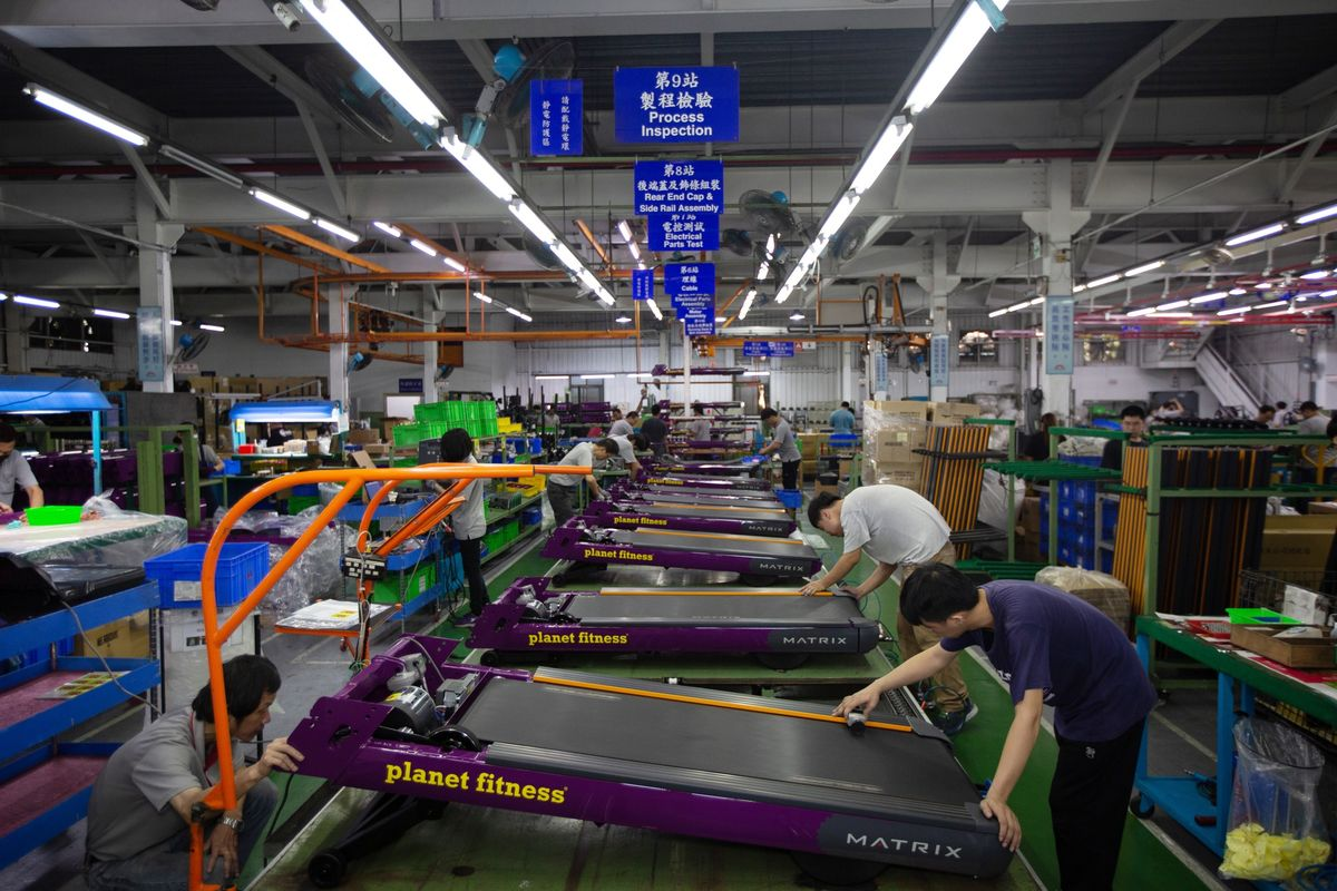 Taiwan Gym Giant Sees Tariffs as Help for World Dominance Plan