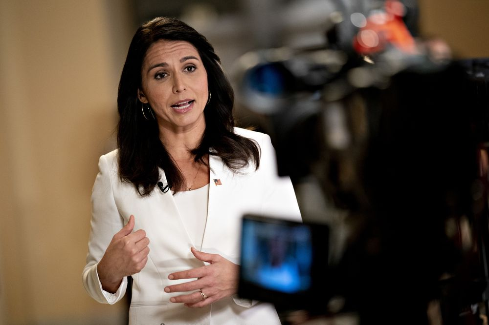 Image result for tulsi gabbard drops out of race