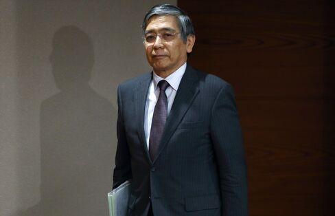 Bank of Japan Governor Haruhiko Kuroda