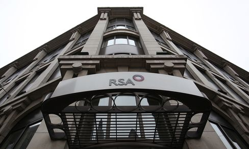 The RSA Insurance Group Plc Company Headquarters in London