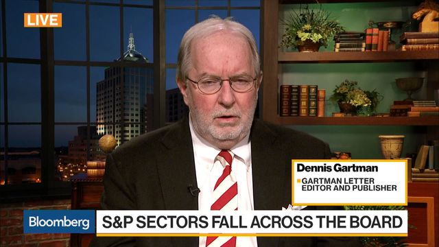 Gartman Says Reduce Position in Stocks'Dramatically