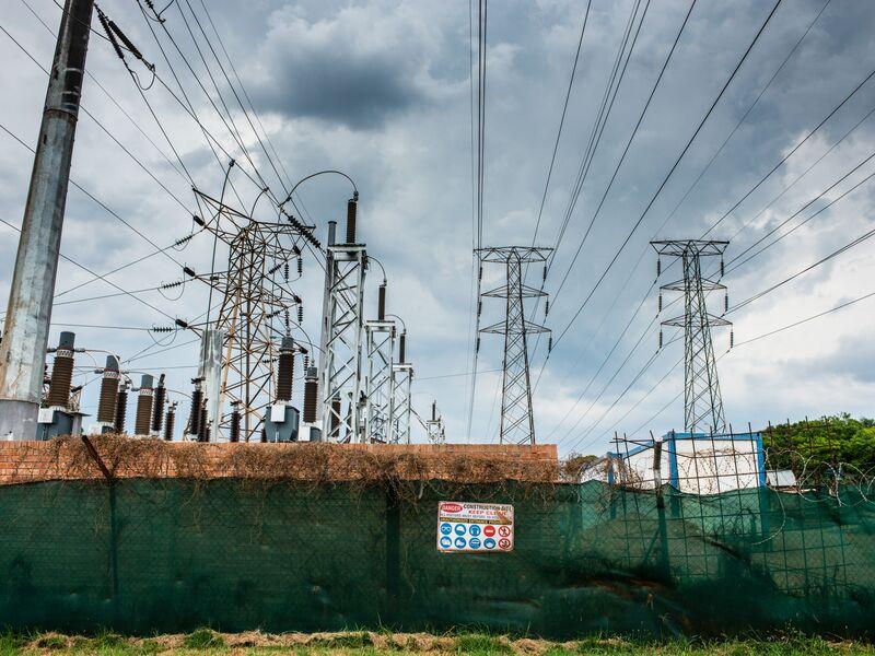 Eskom Holdings SOC Ltd. Power Grid As Debt Risks Impacting South Africa Economy