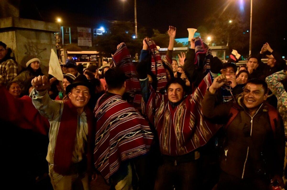 Austerity Bites for Ecuador's President