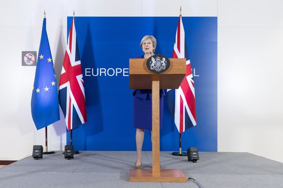 May Gambles on Go-Slow Brexit to Help Revive Flagging Talks