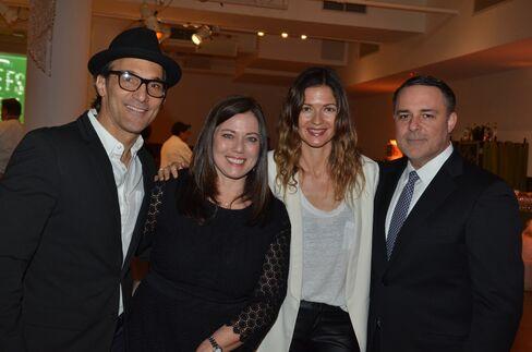 Paolo Mastropietro, Gretchen Witt, Jill Hennessy and Larry Witt