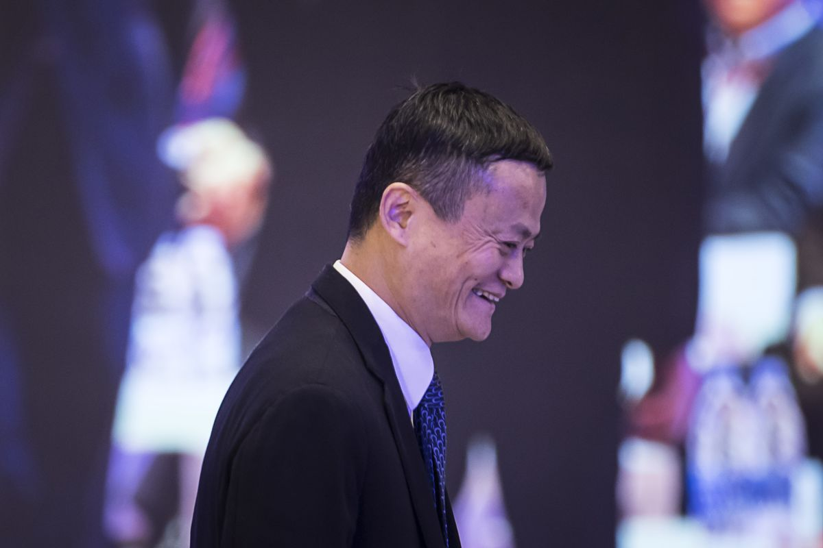Jack Ma Plans to Step Down From Alibaba on Monday, NYT Says