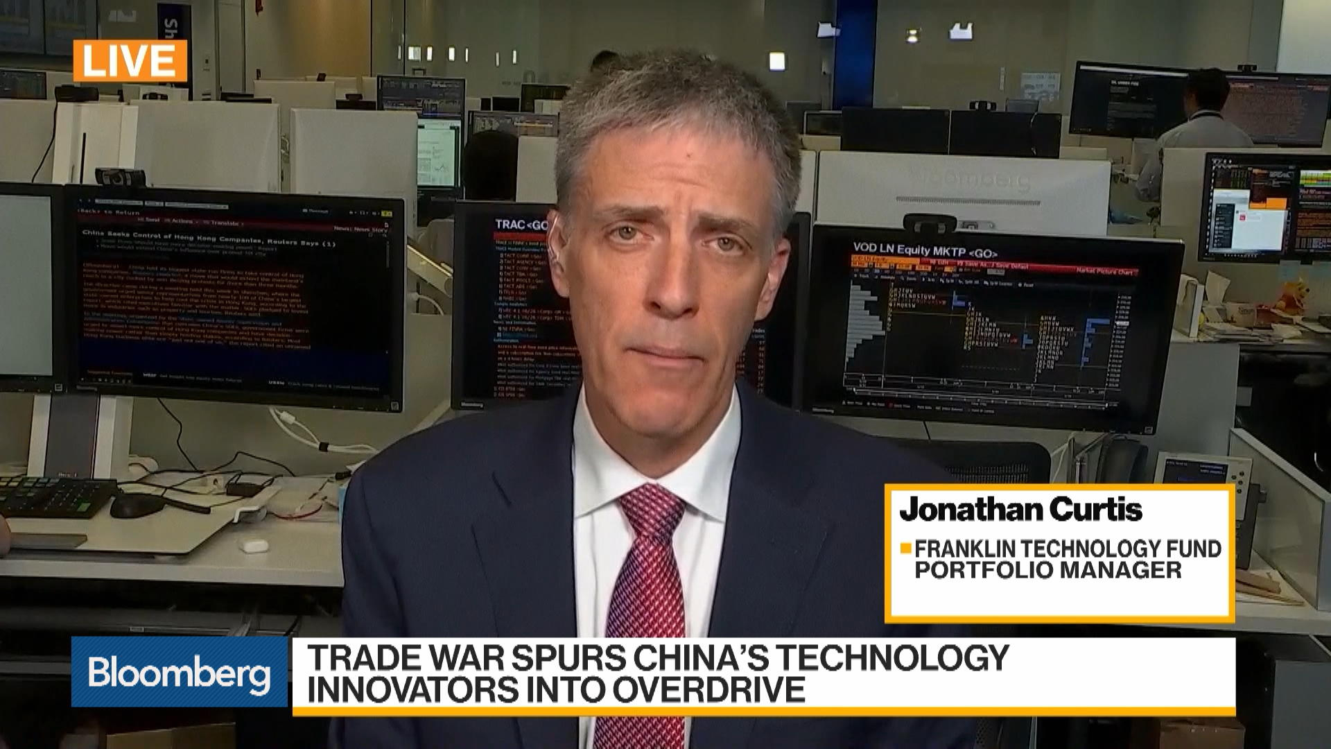 Jonathan Curtis, Franklin Technology Fund Portfolio Manager, on U.S.-China Trade War, Opportunities