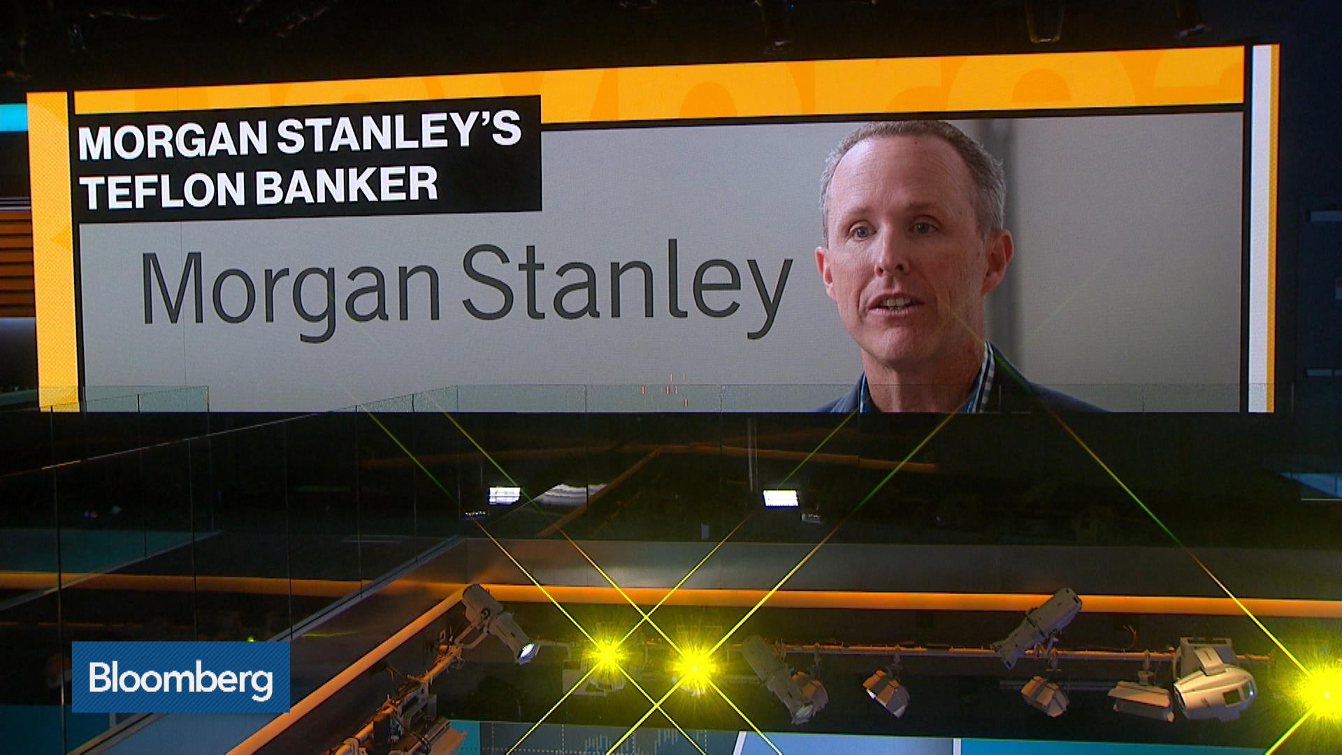 Morgan Stanley's Teflon Banker Chases Next Deal After Uber - Bloomberg