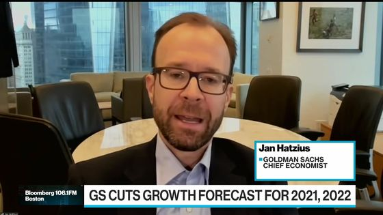 Goldman's Hatzius Sees No Fed Hike Next Year as Growth Slows