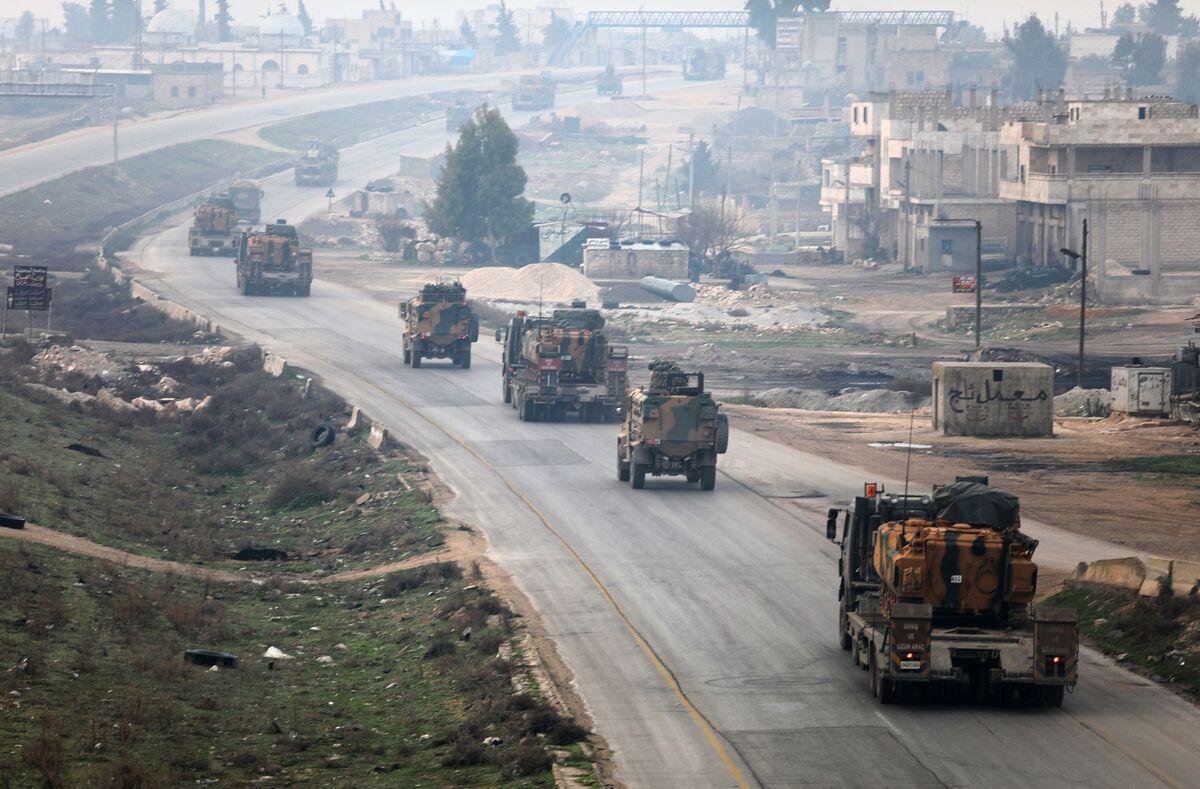 Turkish Troops, Syria Rebels Enter Kurdish Stronghold in Syria