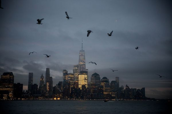 Views Of Manhattan As Stocks Pare Losses