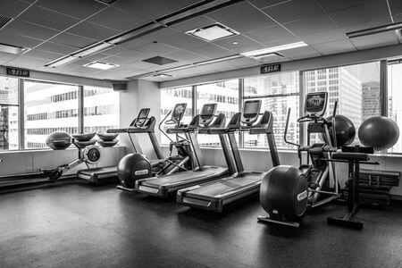 The gym equipment Virtu inherited.