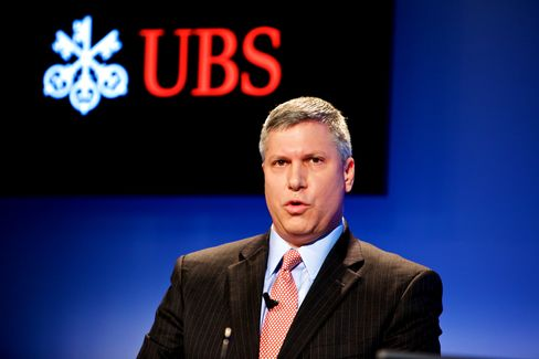 UBS AG CFO Tom Naratil