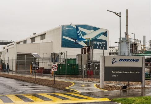 Boeing Co. Factory in Australia