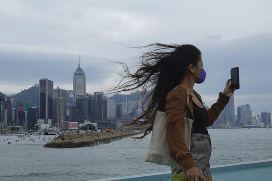 Hong Kong Cancels Stock Trading Because of Typhoon Kompasu