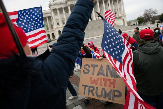 Pro-Trump Mob Driven From Capitol After Breach, Fatal Shooting