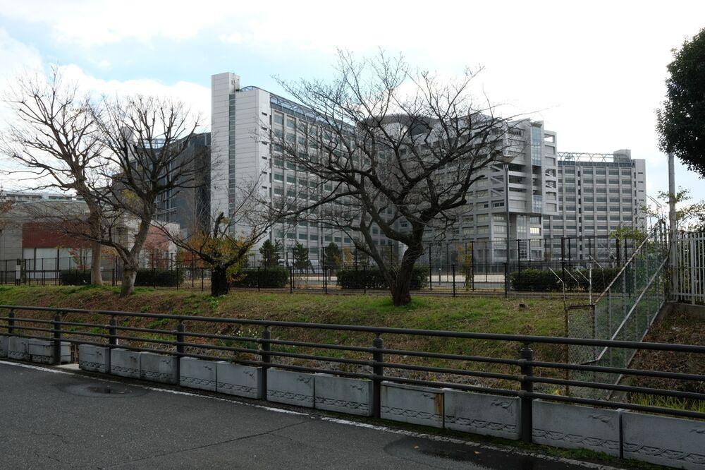被逮捕的日产主席卡洛斯戈恩因逮捕而被关押的东京拘留所