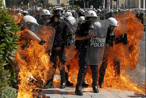 Euro Leaders Face Unrest