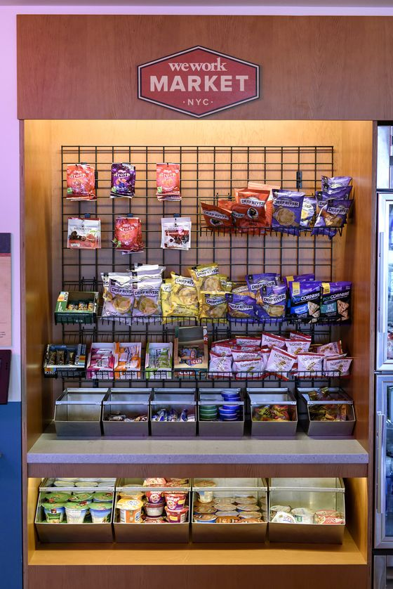 WeWork Scales Back on Honesty-Based Snack and Drink Kiosks