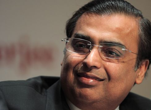 Reliance Industries Ltd. Chairman Mukesh Ambani