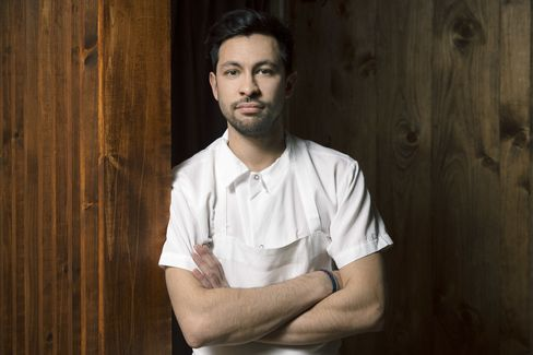 Chef Leonard used to be the chef de cuisine at Blanca.