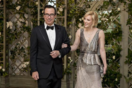 Mnuchin's Wife Linton Plays Murderous Fund Manager in New Movie