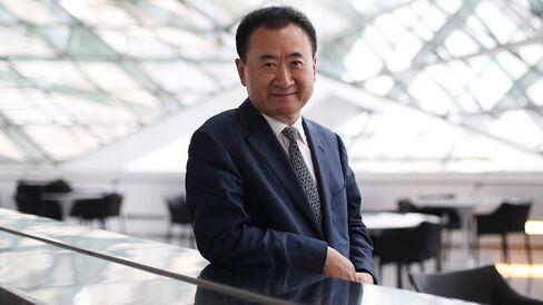 Wang Jianlin, chairman and president of Dalian Wanda Group.