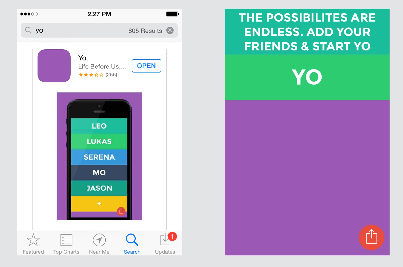 تطبيق YO